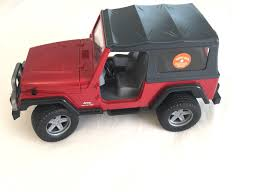 red toy jeep find more red toy jeep wrangler unlimited by bruder toys
