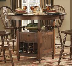 cheerful counter height round dining table all dining room