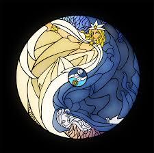 moon and sun by alyssafew on deviantart