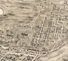 Easton Map Amazing 1900 Easton P U0027burg Map House On College Hill