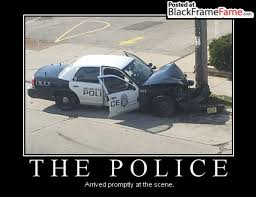 Funny Police Memes - officer made up story about shooting before crashing cruiser police