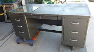 Small Tanker Desk Mid Century Tanker Desk File Cabinet And Chair The Garage
