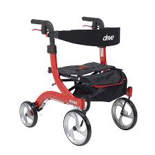 senior walkers with seat nitro style walker rollator