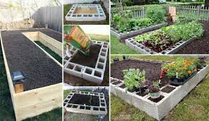 Fruit Garden Ideas Grow Fruit And Vegetables In A Cool Raised Garden Bed Amazing