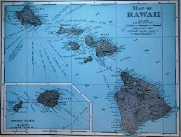Map Of Hawaii Island Map Of Hawaii 1900