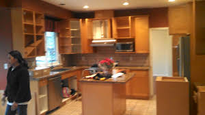 before shot port moody refinishing kitchen cabinets 604 painter