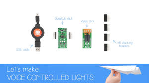 let s make voice controlled lights