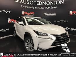 lexus nx white pearl pre owned 2017 lexus nx 200t demo unit standard package 4 door