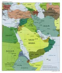 Map Of The Asia by Map Of West Asia