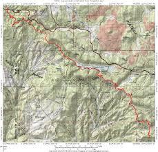 Cedar City Utah Map by Virgin River Rim Trail