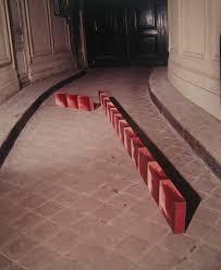 J Aime La Continuité De La Poutre Comme La Poutre Colorée 1973 Exposée à La Galerie Eric Fabre En 1974