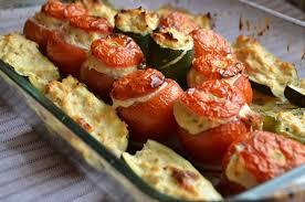 plats faciles cuisiner légumes farcis au poulet une recette facile