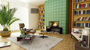 Mid Century Modern Interior Design  DudeLiving - Interior design mid century modern