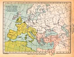Ancient Europe Map by Map Of The Roman Empire 4th Century