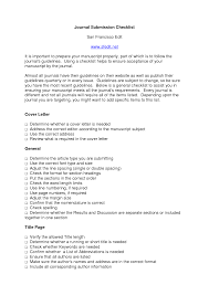 cover letter journal example images cover letter sample