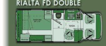 winnebago rialta rv floor plans rialta fd double floor plan via rialta heaven inside out