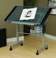 Adjustable Drafting Table Plans Studio Designs Vision Craft Station Silver Amazon Co Uk Kitchen