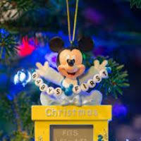 disney baby ornament decore