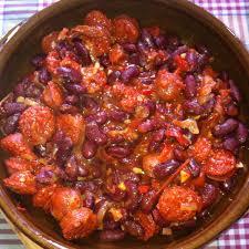 cuisiner haricots rouges haricots rouges au chorizo recette de haricots rouges au chorizo