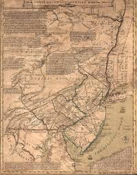 Map Of New England Colonies by 1740 U0027s Pennsylvania Maps
