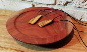 wood pendants necklace images Jws makes wooden necklace pendant jpg