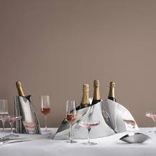 porte seau a champagne sur pied acheter georg jensen seau à champagne indulgence amara