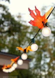 Patio Light Ideas by Autumn Leaf Lighting Oh My Creative