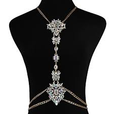 womens necklace chains images Holylove body necklace jewelry sparkly with the boho style jpg