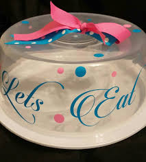 personalized cake plate cake platter cake plate with dome cake carrier personalized