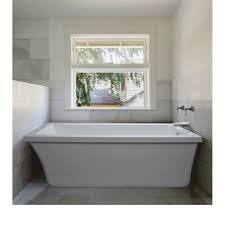 mti basics freestanding bathtub 66 x 32 x 20 free shipping