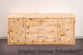 Schlafzimmer Zirbe Massiv Zirbenholz Kommode Km 07von Leonhard Steiner