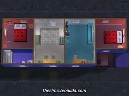 shotgun house starter home for 4 sims the sims fan page