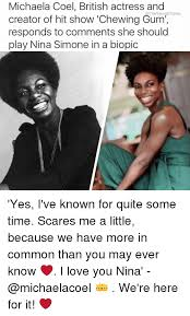 Michaela Meme - michaela coel british actress and the young empire creator of hit