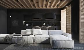 Modern Interior Design Ideas 4 Gorgeous Homes With Matte Black Walls