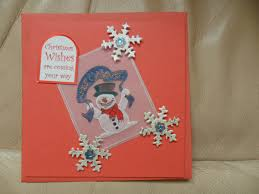 christmas cards with lovely embossed work pergamano parchment