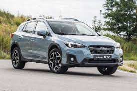 gray subaru crosstrek subaru xv 2018 review autocar