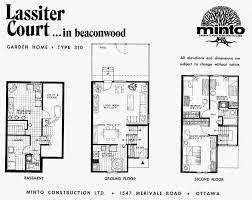 mid century modern and 1970s era ottawa 1970s garden homes by minto