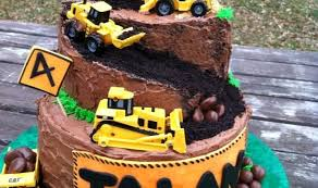 construction cake ideas truck birthday cake ideas best 25 construction cakes ideas on