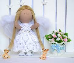 Angel Home Decor Textile Doll Doll Angel Tilda Doll Fabric Art Doll Cloth Doll