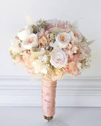 Wedding Flowers Roses Rose Gold Wedding Bouquet All Preserved Real Flowers To Last For