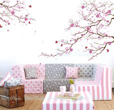 articles with cherry blossom wall art decals tag cherry blossom cherry blossom tree wall decals with butterfly wall by chinstudio cherry blossom wall art decals cherry