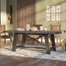 Dining Room Table Farmhouse Farmhouse Dining Tables Birch