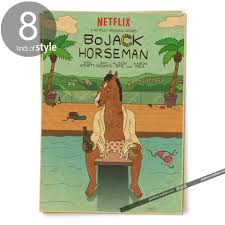 bojack horseman hollywood poolside posters vintage retro adornment bojack horseman hollywood poolside posters vintage retro adornment poster home decor character classic movie in painting calligraphy from home garden on