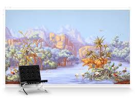 paul montgomery wallpaper amazonia mural wallpaper colour