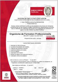 formation bureau veritas certification veriselect executive audencia