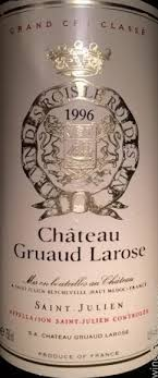 30 years of château gruaud 1996 chateau gruaud larose julien prices in usa