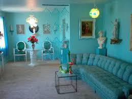 arizona home decor cool blue paint retro vintage 1950s furniture décor mid century