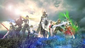 Warrior Of Light The Warrior Of Light Attacks In Dissidia Final Fantasy Trailer
