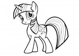 Coloriage Twilight Sparkle de Mon petit poney dessin gratuit à imprimer