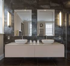 bathroom attractive frameless bathroom wall mirror ideas with led